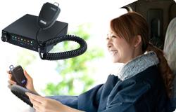 GPS車載器が、IP無線対応で通話可能 通信間隔は、30秒ごとの高精度へ