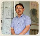 学校法人金子学園まこと幼稚園 理事長・園長の山村達夫さん
